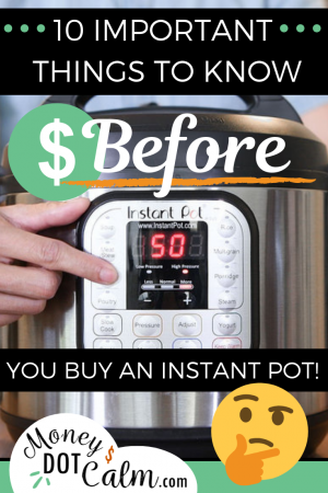 "Is an instant pot worth buying? Are Instapots worth the money? If you've ever been scared of instant pots, heard some negatives about instant pots or want to know why NOT to buy an instant pot, this is for you! We often get asked ""why do you love your instant pot?"" and although it's been a major game changer for our family meals, there are still pros and cons of instant pots."