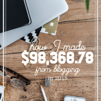 How I Made $98.368.78 by Blogging in 2018
