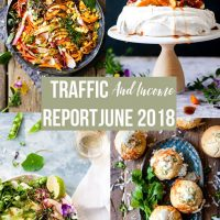 Food Blog Traffic and Income Report June 2018 • Salted Mint