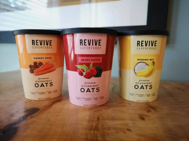 Revive Superfoods Overnight Oats