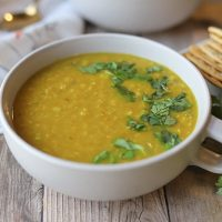 Curry lentil soup: Pantry-friendly & easy